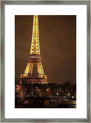Eiffel Tower - Paris France - 011326 Framed Print by DC Photographer