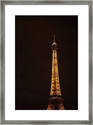 Eiffel Tower - Paris France - 011329 Framed Print by DC Photographer