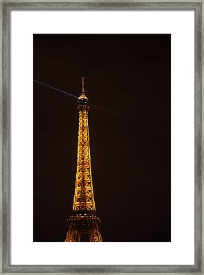 Eiffel Tower - Paris France - 011331 Framed Print by DC Photographer
