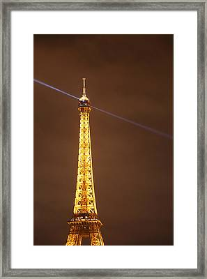 Eiffel Tower - Paris France - 011332 Framed Print by DC Photographer