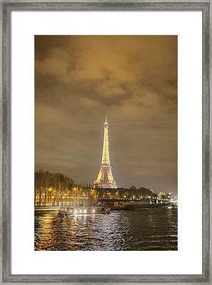 Eiffel Tower - Paris France - 011339 Framed Print by DC Photographer