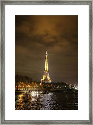 Eiffel Tower - Paris France - 011340 Framed Print