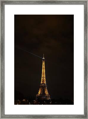 Eiffel Tower - Paris France - 011344 Framed Print