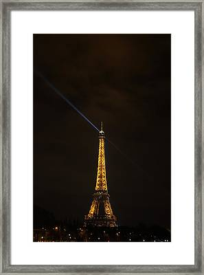 Eiffel Tower - Paris France - 011347 Framed Print by DC Photographer