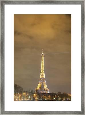 Eiffel Tower - Paris France - 011351 Framed Print