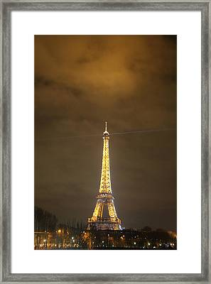 Eiffel Tower - Paris France - 011352 Framed Print by DC Photographer