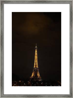Eiffel Tower - Paris France - 011353 Framed Print by DC Photographer