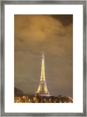 Eiffel Tower - Paris France - 011354 Framed Print by DC Photographer