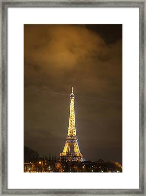 Eiffel Tower - Paris France - 011355 Framed Print by DC Photographer