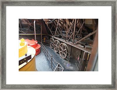 Eiffel Tower - Paris France - 01136 Framed Print
