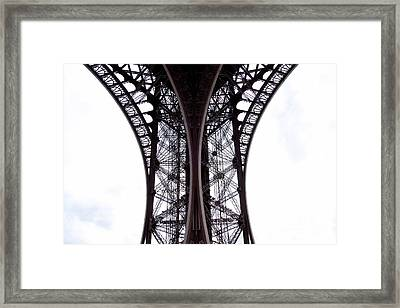 Eiffel Tower. Paris. France. Europe Framed Print
