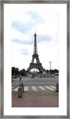 Eiffel Tower, Paris,ile-de-france Framed Print by Panoramic Images