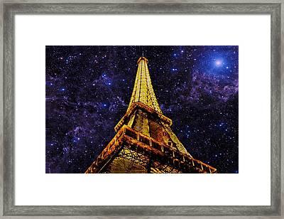 Eiffel Tower Photographic Art Framed Print
