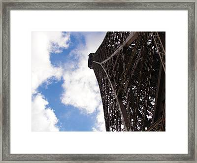 Framed Print featuring the photograph Eiffel Tower by Tiffany Erdman