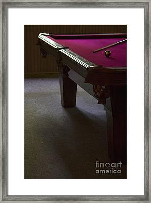 Eight Ball Framed Print by Margie Hurwich