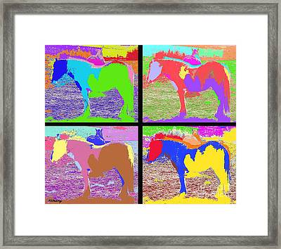Eight Horses Framed Print by Patrick J Murphy