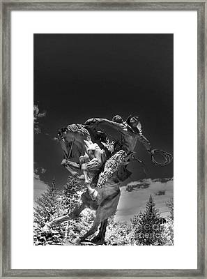 Eight Second Man Framed Print by David Bearden