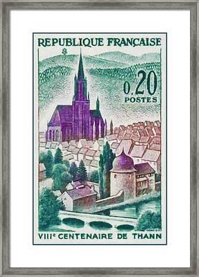 Eighth Centennial Thann Framed Print