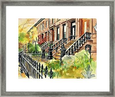Eighth Street Framed Print