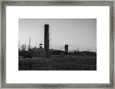 Eighty-sixed Framed Print by CJ Schmit