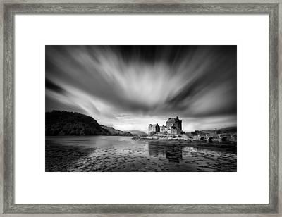 Eilean Donan Castle 1 Framed Print by Dave Bowman