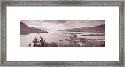 Eilean Donan Castle On Loch Alsh & Framed Print