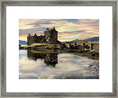 Framed Print featuring the photograph Eilean Donan Castle Scotland by Jacqi Elmslie