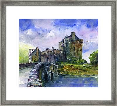 Eilean Donan Castle Scotland Framed Print