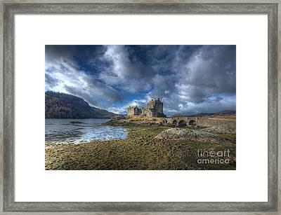 Eilean Donan Castle Scotland Framed Print by John Kelly