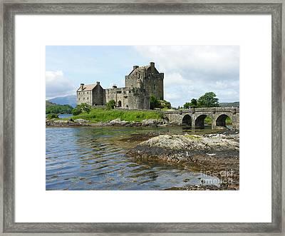 Eilean Donan Castle - Summer Framed Print