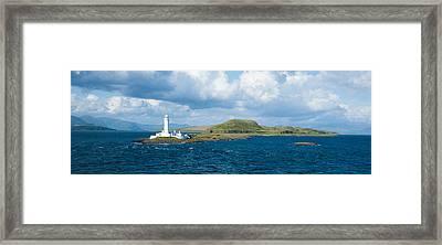 Eilean Musdale Lighthouse Framed Print