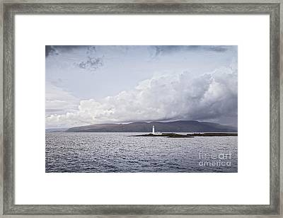 Eilean Musdile Lighthouse Scotland Framed Print by Colin and Linda McKie