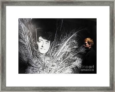 Eileen Gray Retrospective Imma Dublin Framed Print by Ros Drinkwater
