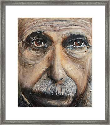 Einstein  Framed Print