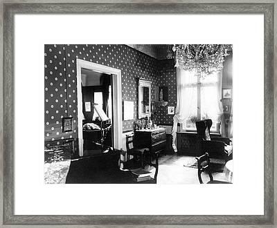 Einstein's Home Framed Print