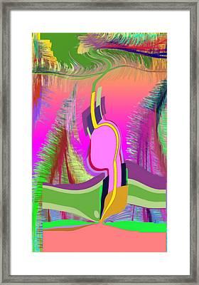 Ej Dance With Sne Framed Print