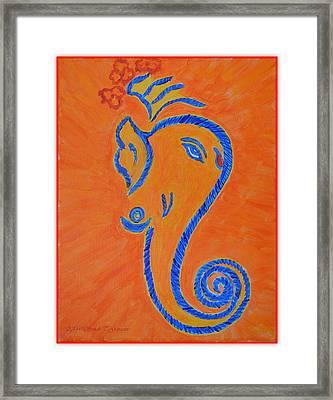 Ekadrishta Framed Print by Sonali Gangane