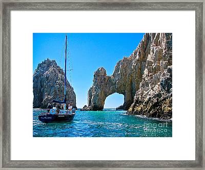 El Arco - Cabo San Lucas Framed Print