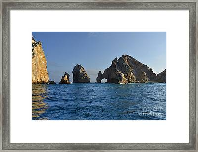 El Arco - The Arch - Cabo San Lucas Framed Print by Christine Till
