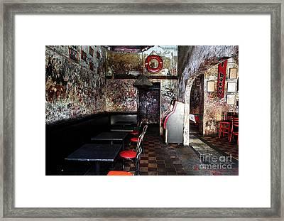 El Batey Framed Print by John Rizzuto