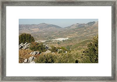El Burgo Framed Print by Christian Zesewitz