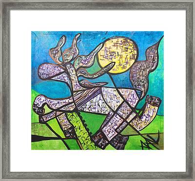 El Caballo Framed Print by Andree Anne Lafleur