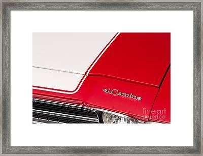 El Camino 04 Framed Print
