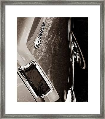 El Camino  Framed Print by Chris Berry