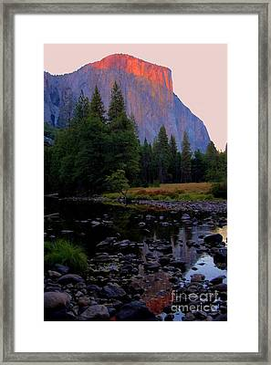 El Capatain Framed Print by Kathleen Struckle