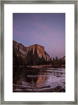El Capitan After Sunset Framed Print