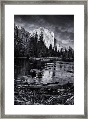 El Capitan At Sundown Framed Print