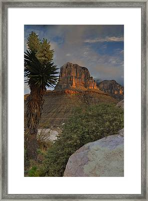El Capitan At Sunrise Framed Print by Stephen  Vecchiotti