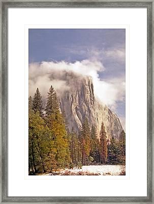El Capitan I Framed Print