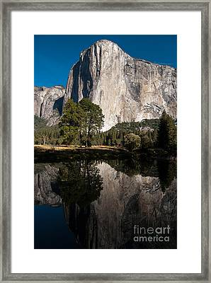 El Capitan In Yosemite 2 Framed Print